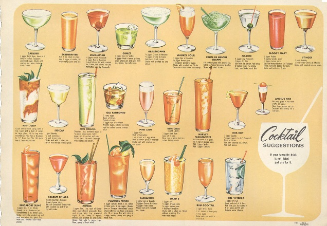 cocktails of the 60s
