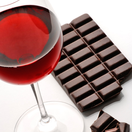 pairing wine and chocolate